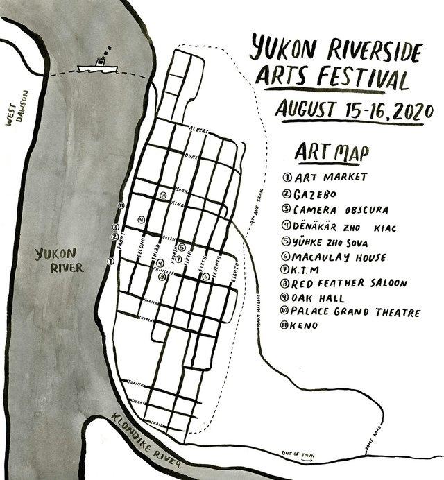 "KIAC, ""Yukon Riverside Arts Festival,"" 2020"