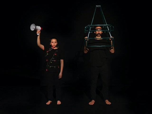 """Manar Moursi,""""The Loudspeaker and the Tower,""""2019"""