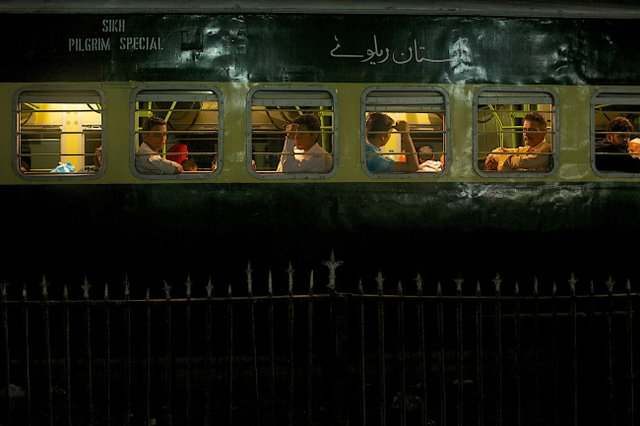"Madiha Aijaz, from ""A Railway Pilgrimage in Pakistan,"" 2014 (courtesy the artist)"
