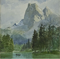 """Frederic Marlett Bell-Smith, """"Mt. Burgess and Emerald Lake,"""" n.d."""