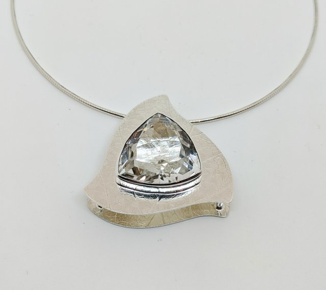 """Angela and Ryan Rosenberg, """"Silver Necklace by A&R Jewellery,"""" 2020"""