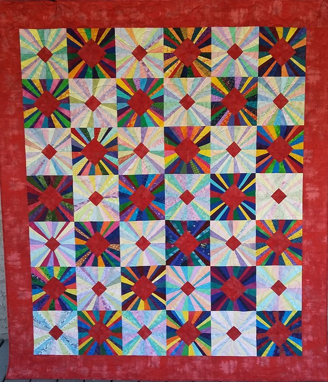 """St. Albert Quilters' Guild, """"Ruby Anniversary,"""" 2020"""