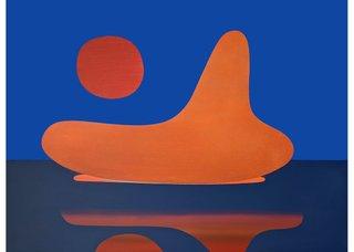 "Luke Ramsey, ""Holding Space,"" 2020, acrylic on canvas, 36"" x 48"""