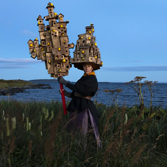"Meryl McMaster, ""Harbourage for a Song,"" 2019"