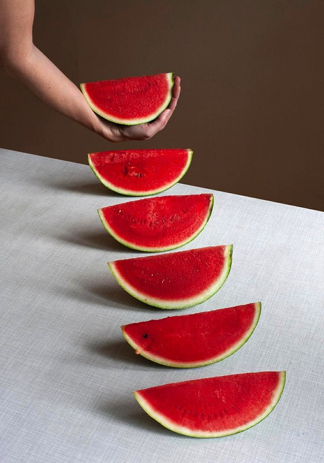 "Birthe Piontek, ""Melon, Janus series,"" 2020"