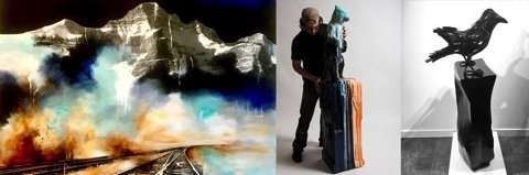 "Canada House Gallery, ""Dieter Schlatter 1958 - 2020,"" 2020"