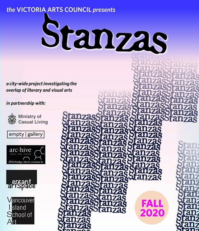 """Victoria Arts Council, """"Stanzas,"""" 2020"""