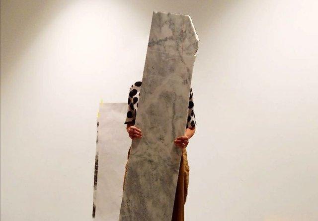 "Hazel Meyer, ""The Marble in the Basement,"" 2019"