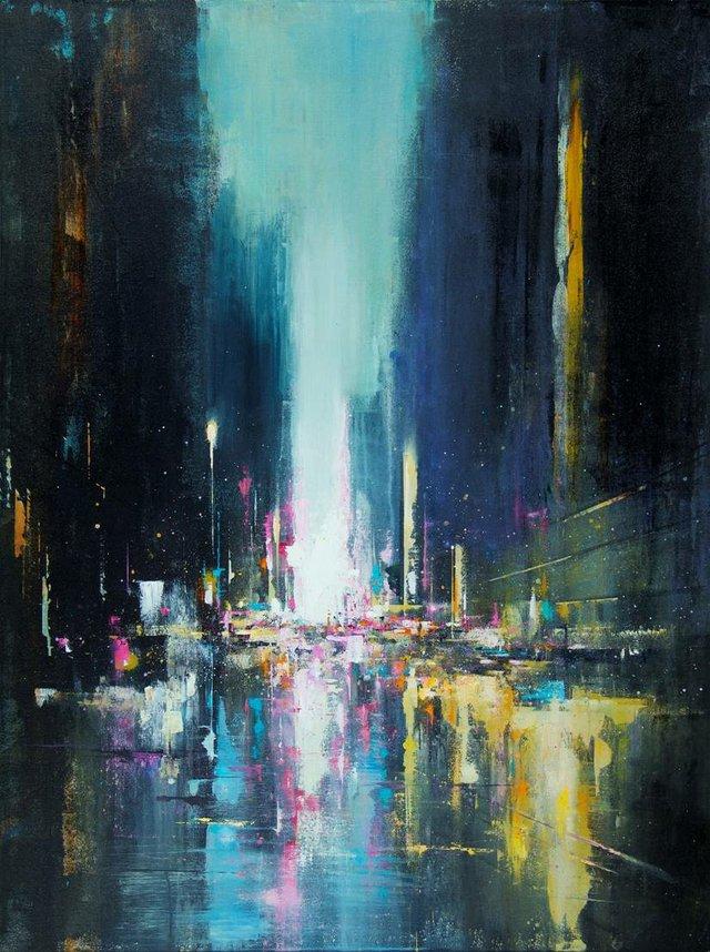 """William Liao, """"City Lights,"""" 2020"""