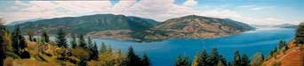 """Okanagan Lake View"""