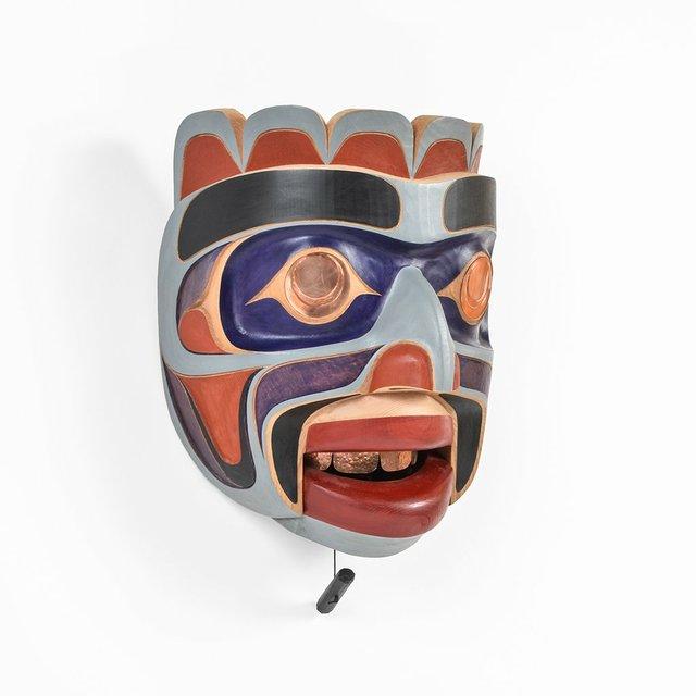 """Erich Glendale, """"Kumugwe Mask,"""""""