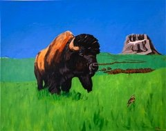 "Terry McCue, ""Return Of The Herd,"" 2020"