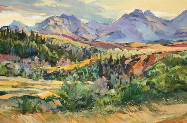 "Brent Laycock, RCA, ""Drywood Coulee Summer,"" n.d."