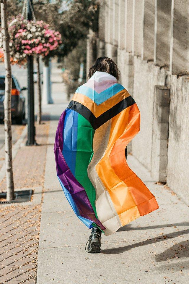 "Caitlin O'Brien, ""Salmon Arm Pride Project,"" 2020"