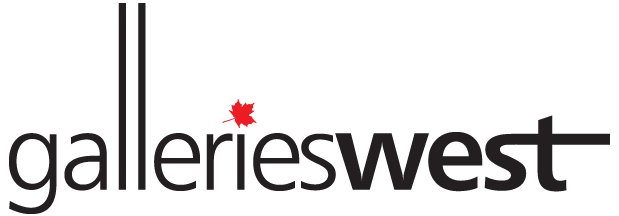 GalleriesWestLogo-BW-RED leaf.jpg