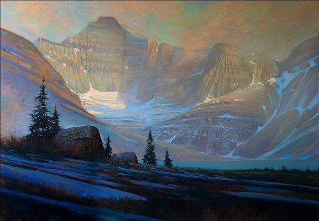 "Brent Lynch, ""Summer Evening, Lake McArthur,"" 2020"