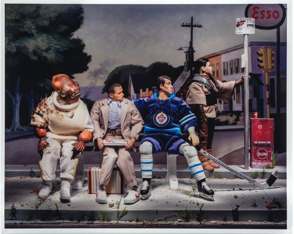 "Diana Thorneycroft, ""Portrait of Winnipeg (Life Is Like a Box of Chocolates),"" 2012"