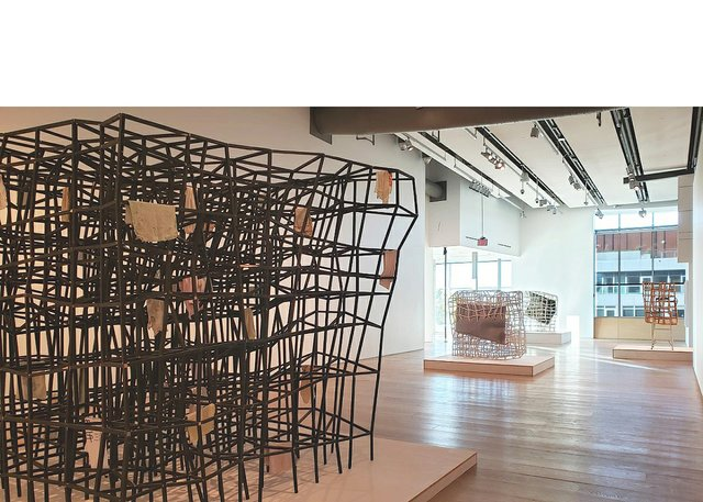 "Samuel Roy-Bois, ""Presences,"" 2020, installation view at Esker Foundation, Calgary"