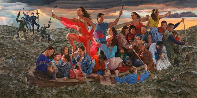 "Kent Monkman, (Cree, b. 1965). ""Resurgence of the People,"" 2019"
