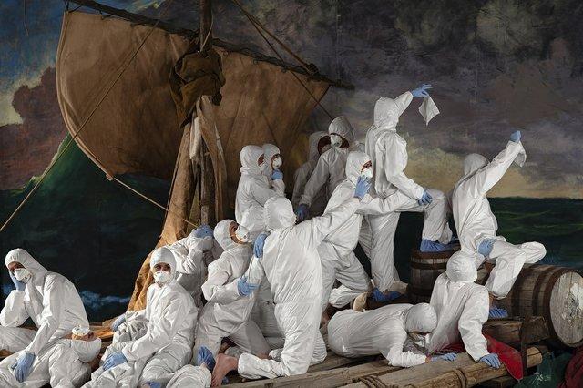"Adad Hannah, ""The Raft Of The Medusa PPE 2,"" 2009 / 2020"