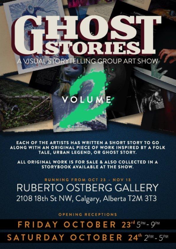 "Ruberto Ostberg, ""Ghost Stories Volume 2,"" 2020"