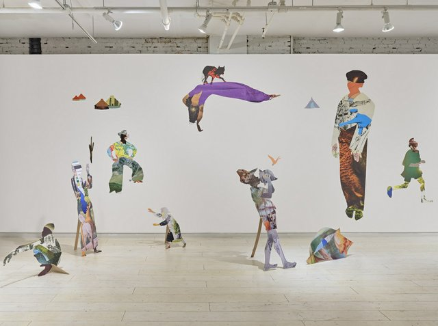 "Anna Binta Diallo, ""Wanderings,"" 2020, installation view at Access Gallery (photo by Rachel Topham Photography)"