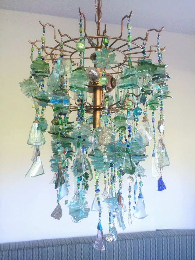 "Susan Hoyle, ""Waterfall Chandelier,"" 2019"