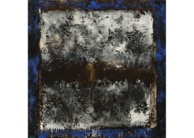 """Jean McEwen, """"Tableaux sans paroles #3,"""" 1973"""