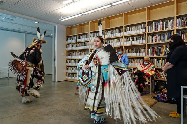 Celebration at Southern Alberta Art Gallery Naming Ceremony