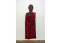 """Alicia Henry, """"Untitled (Woman in a Dress with Red Undertones),"""" 2019-2020"""