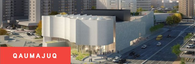 Winnipeg's Qaumanjuq, formerly known at the Inuit Art Center, shown in this architectural rendering, will open early next year. (courtesy of Winnipeg Art Gallery)
