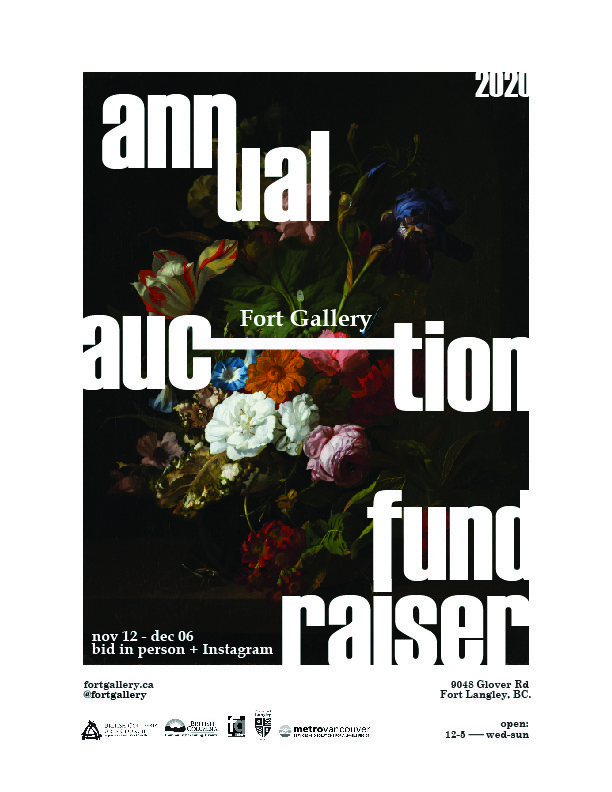 "Fort Gallery, ""Annual Auction Fundraiser Poster,"" 2020"