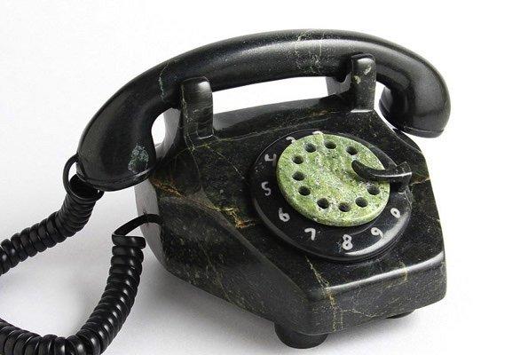 """Johnnysa Mathewsie, """"Rotary Phone,"""" nd"""