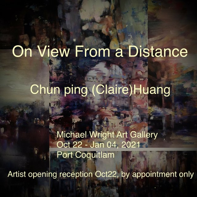 "Chun ping Huang, ""On View From a Distance,"" 2020"