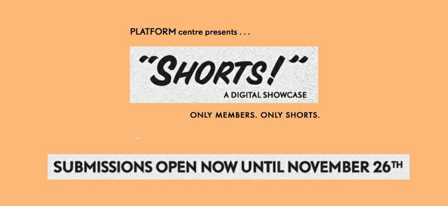 "Platform Centre, ""Shorts,"" 2020"
