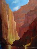 "Joan Clement, ""Canyon Light,"" 2020"