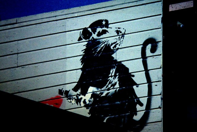 "Banksy, ""San Francisco,"" 2010"