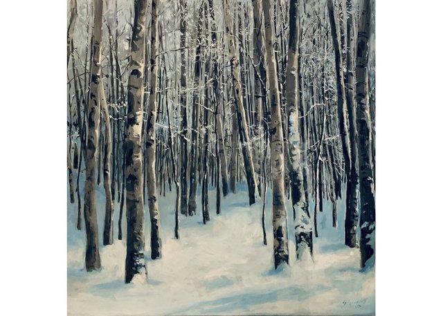 "Sheena Lott, ""Silence in the Snow,"" no date"