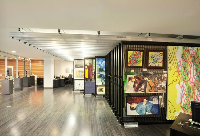 The art rental and sales office at the Art Gallery of Alberta in Edmonton. (courtesy AGA)