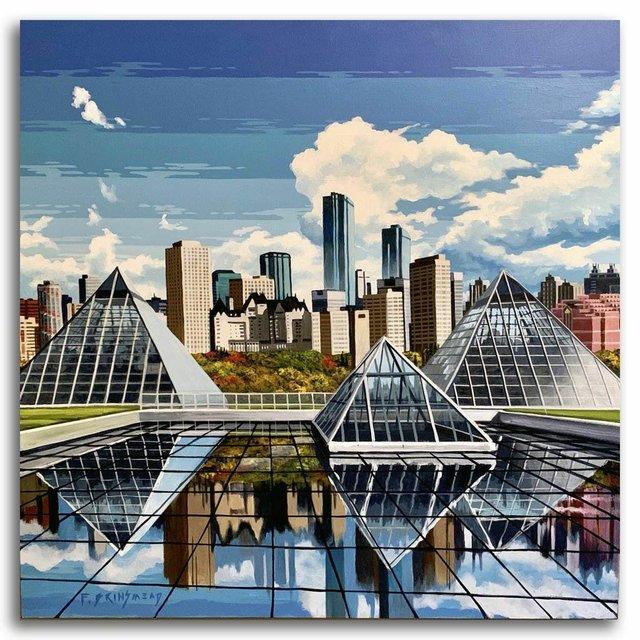 """Fraser Brinsmead, """"Muttart - Urban Geometry,"""" 2020"""