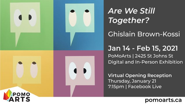 """Ghislain Brown-Kossi, """"Are We Still Together?"""" 2021"""