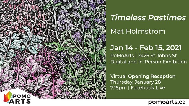 "Mat Holmstrom, ""Timeless Pastimes,"" 2021"
