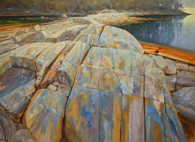 "Brent Lynch, ""Escarpment Brickyard Nanoose Bay,"" 2020"