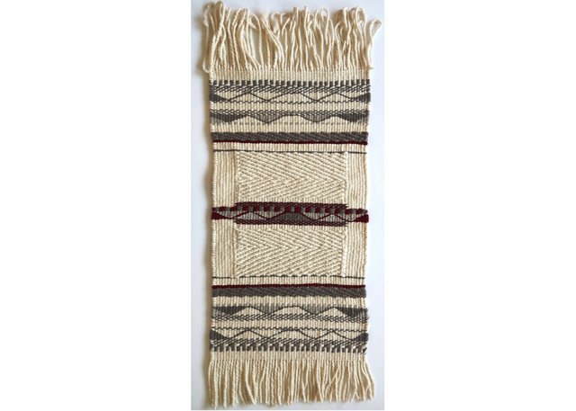 "Debra Sparrow (weaver), ""Prayer Rug,"" 2018"