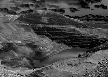 "Corbin Union, ""Strip Mine Ziggurat #3,"" 2019"