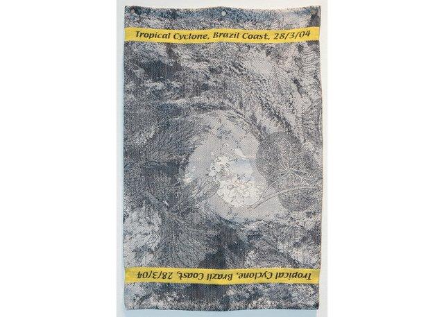 "Ruth Scheuing, ""Tropical Cyclone Brazil Coast 28/3/04,"" 2004"