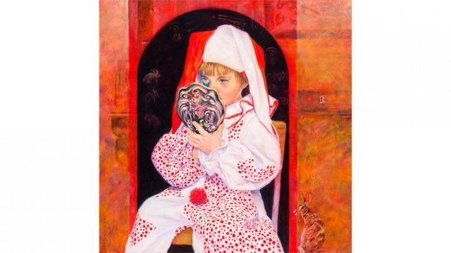 "Deborah Putman, ""Vefele Looks in the Mirror,"" 2009"