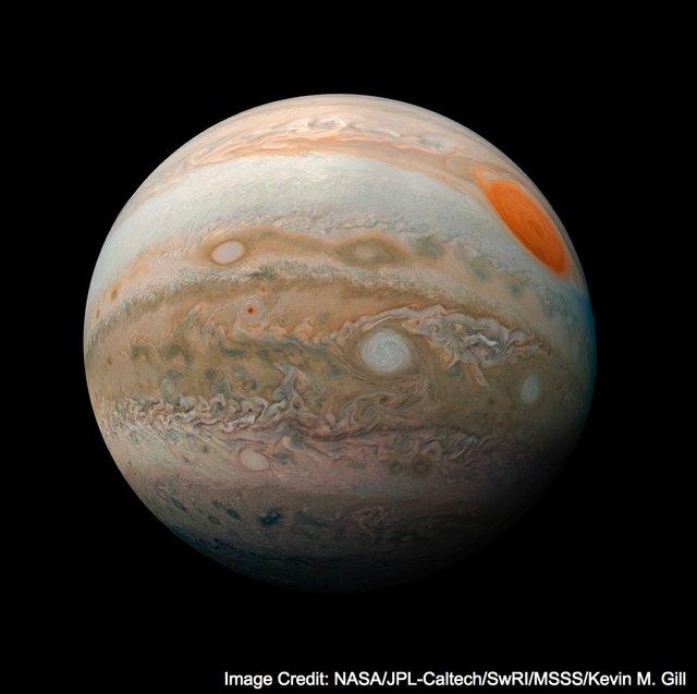 """Kevin M. Gill, """"Jupiter Marble,"""" 2019"""