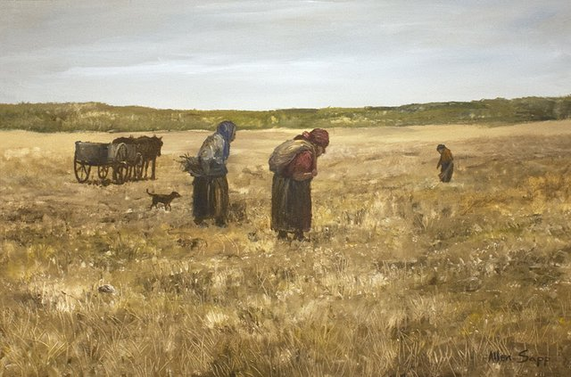 "Allen Sapp, ""Picking Medicine Grass, ""AS061 1969"