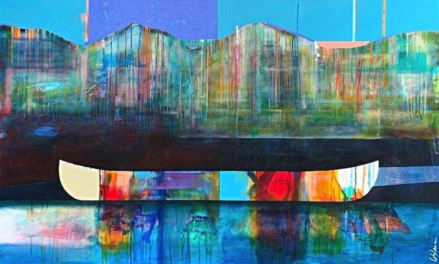 """Sylvain Leblanc, """"Comme un spectacle de couleurs,"""" 2020"""